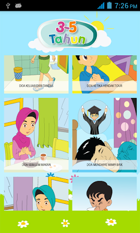android My Daily Du'as,  Kids Series Screenshot 5