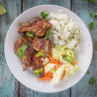 Moroccan Spiced Chicken Wings.
