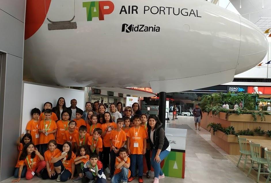 Vencedores das Olimpíadas da Cidadania viajam até à KidZania