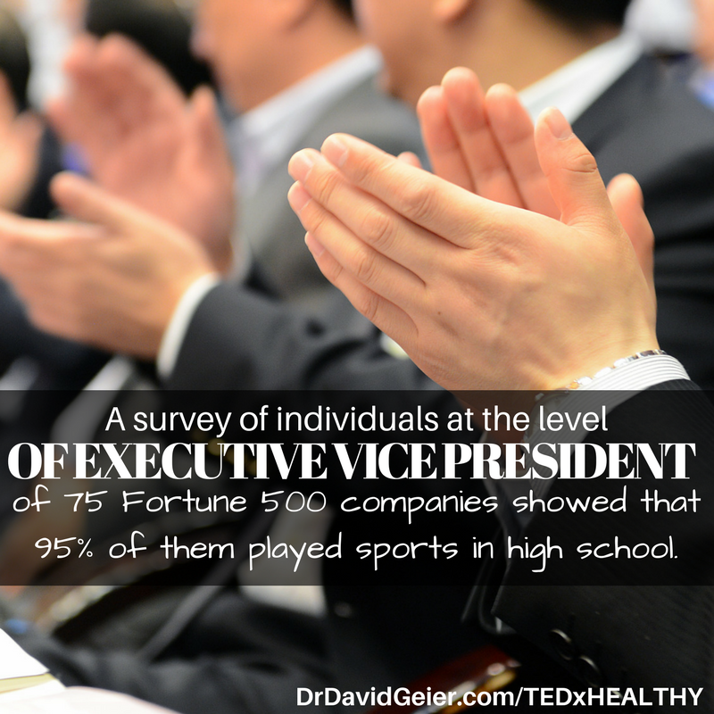 Executives played sports