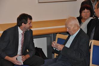 Photo: Každé setkání s panem Eliášem je pro mě, jako učitele dějepisu, ale i jako člověka, nesmírně obohacující.