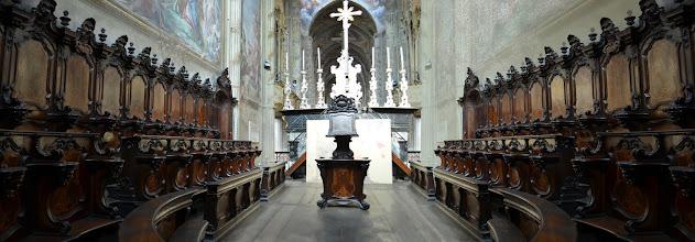 Photo: Il nuovo coro, opera di Francesco Salario di Moncalvo (1764)