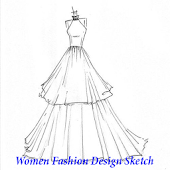 Women Fashion Design Sketch Android APK Download Free By Aakpstudio
