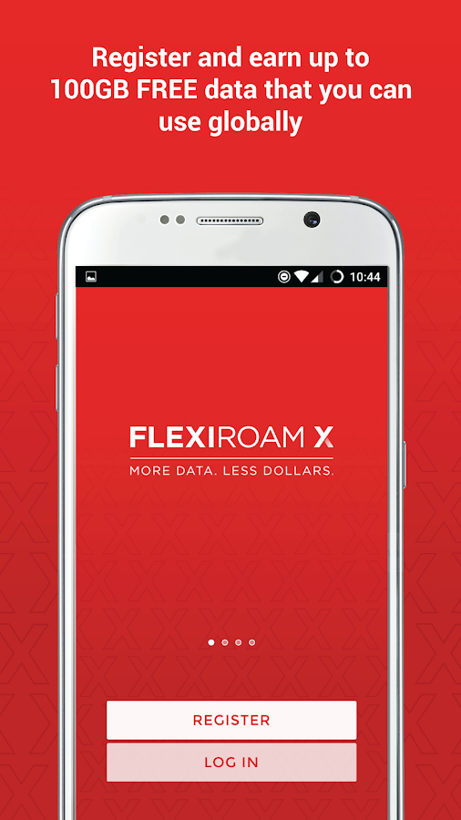 Flexiroam X- screenshot