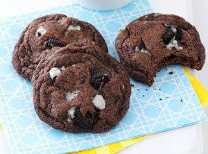Quadruple Chocolate Chunk Cookies Recipe
