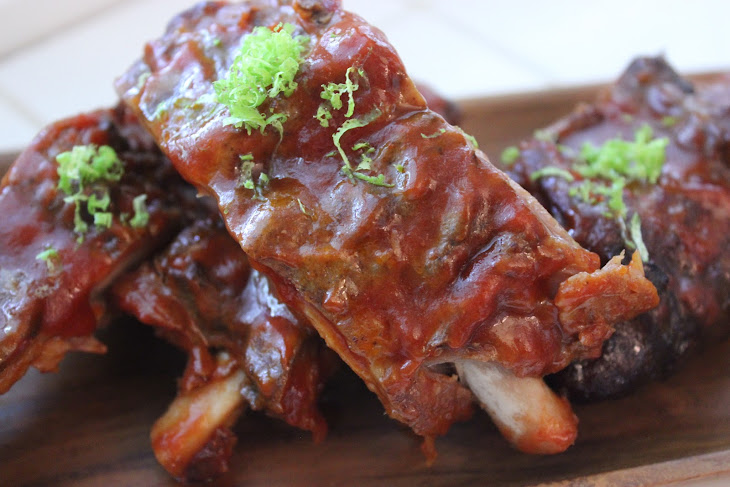 SLOW-COOKER BARBECUED RIBS Recipe