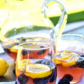 Lemon Blackberry Sangria