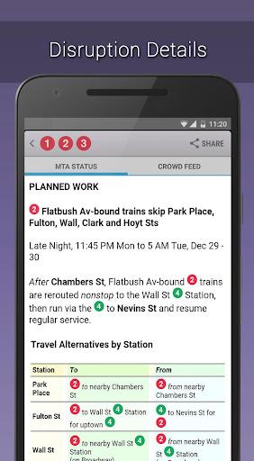MyTransit NYC Subway, Bus, Rail  screenshots 6