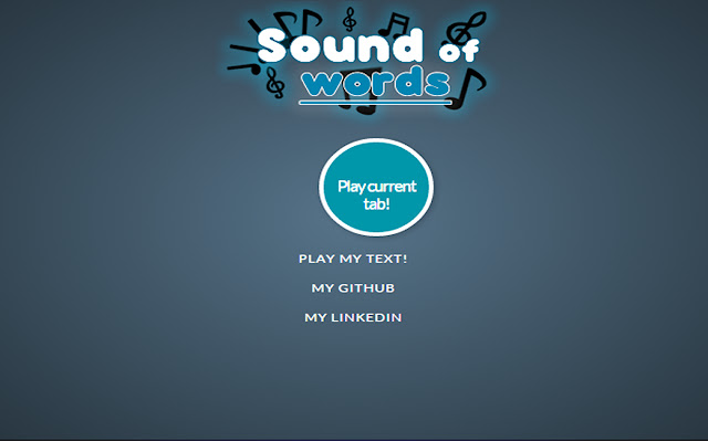 Sound of Words