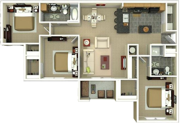 Go to The Percy Floorplan page.