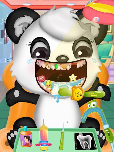 Princess pet hospital - tooth dentist Surgery Game 5.0 screenshots 1