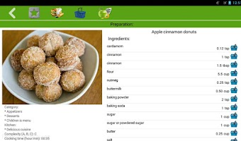 Screenshot of Snack recipes