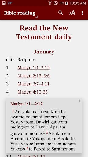 Chuave - Bible  screenshots 5