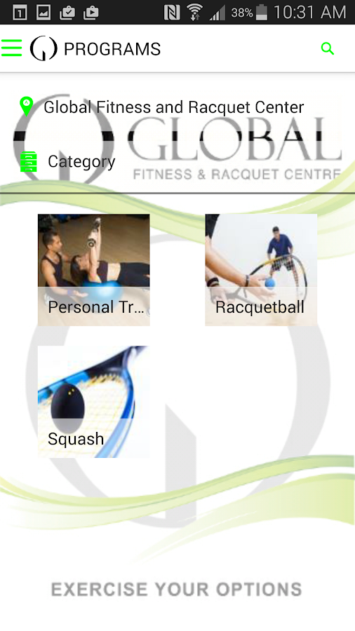 Global Fitness&Racquet Centre- screenshot