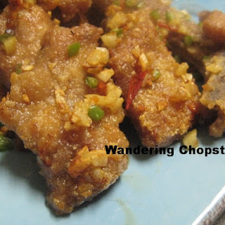 Chinese Deep-Fried Pork Chops with Spicy Salt