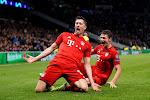 Robert Lewandowski wordt door collega's verkozen tot beste speler van het seizoen