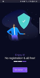 Free VPN unlimited secure hotspot proxy by vpnify Screenshot