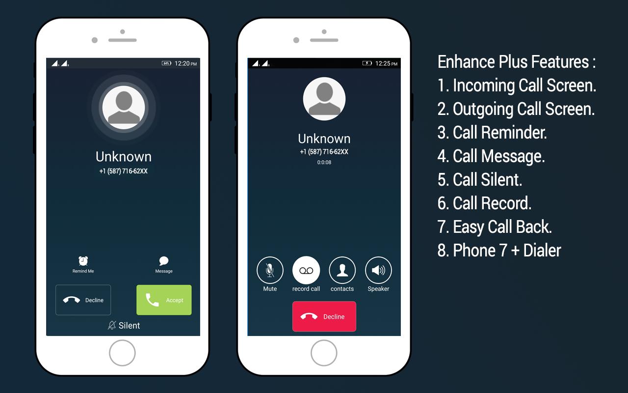 full screen caller id on ios 7