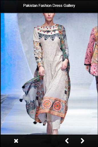 パキスタンのファッションドレスショー