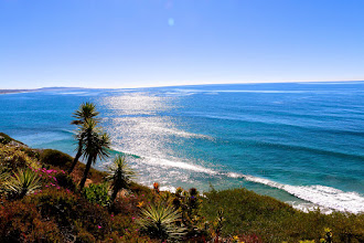 Photo: View from the Self Realization Fellowship, Encinitas, CA.
