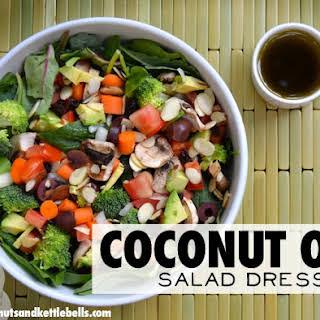 Coconut Oil Salad Dressing.