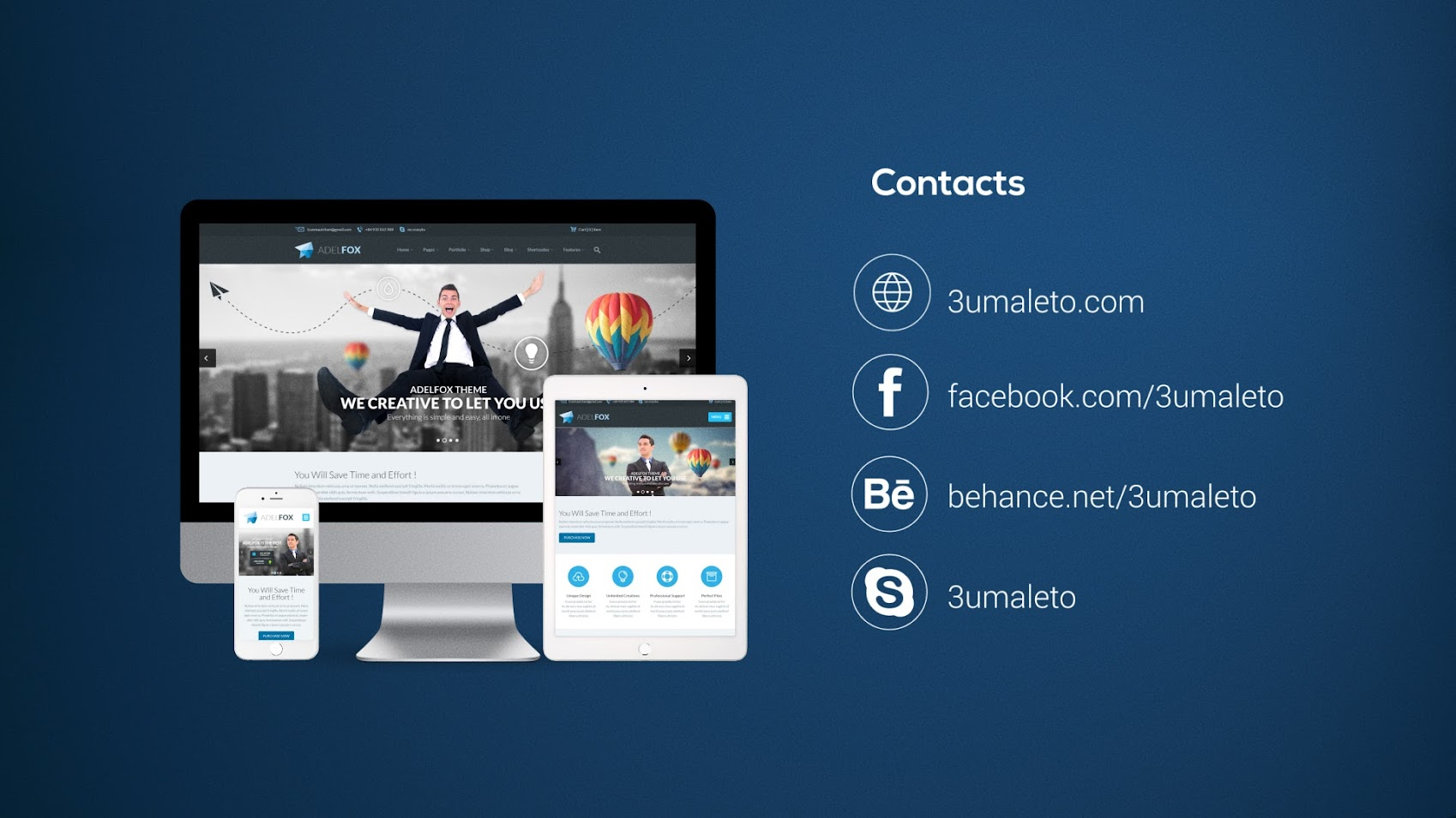 Website Presentation Pack by 3uma | VideoHive