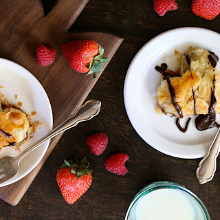 Dark Chocolate, Butterkäse & Berry Valentine Danishes