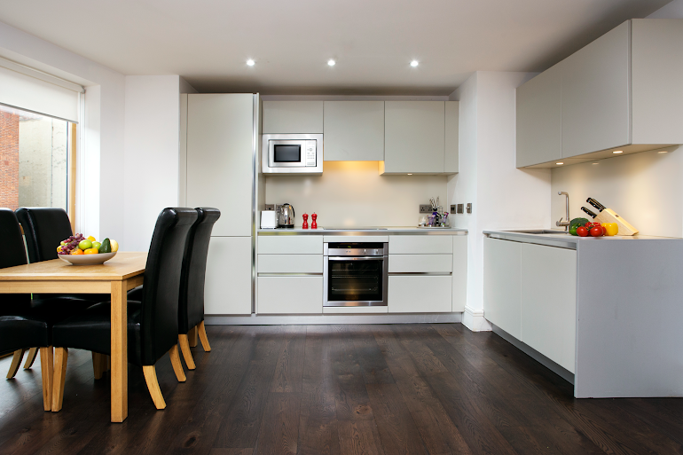 Fully equipped kitchen at Clerkenwell One