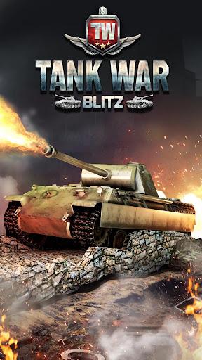 Tank War Blitz 3D captures d'u00e9cran 1