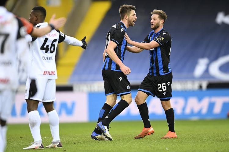 Bruges domine son dauphin au terme d'un match spectaculaire