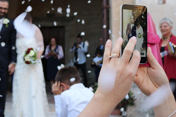 FOtografando la foto agli sposi di scerda