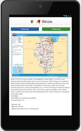 Illinois map  screenshots 1
