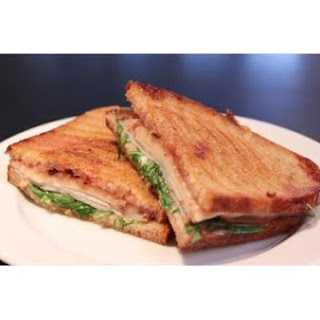 Grilled Turkey, Swiss, Cranberry Sandwich