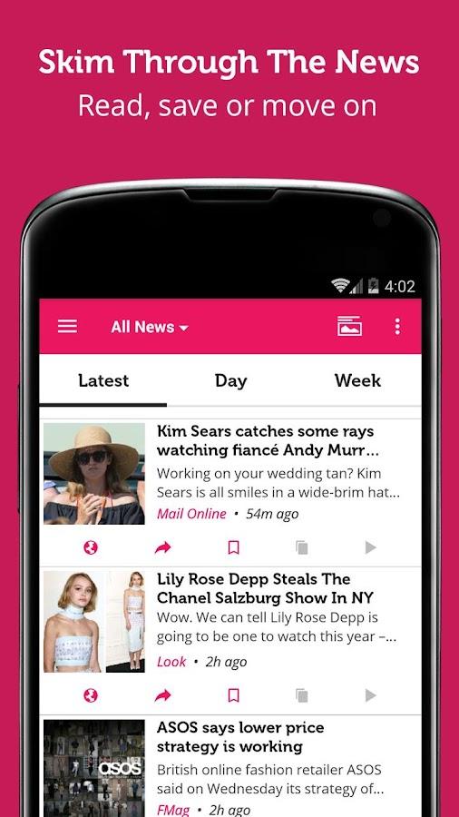 Fashion Magazine - Newsfusion - screenshot