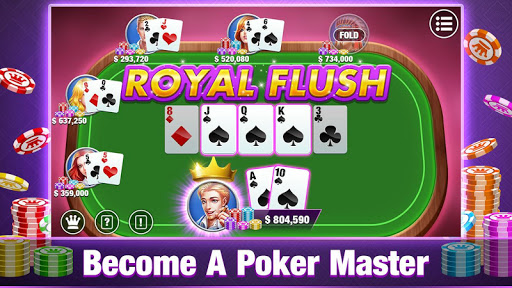 Texas Holdem Poker Offline:Free Texas Poker Games 1.5.2 Mod screenshots 3