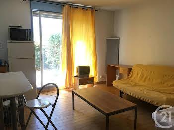 Studio meublé 25,07 m2
