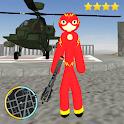 Flash Stickman Rope Hero Speed Hero Gangstar Crime icon
