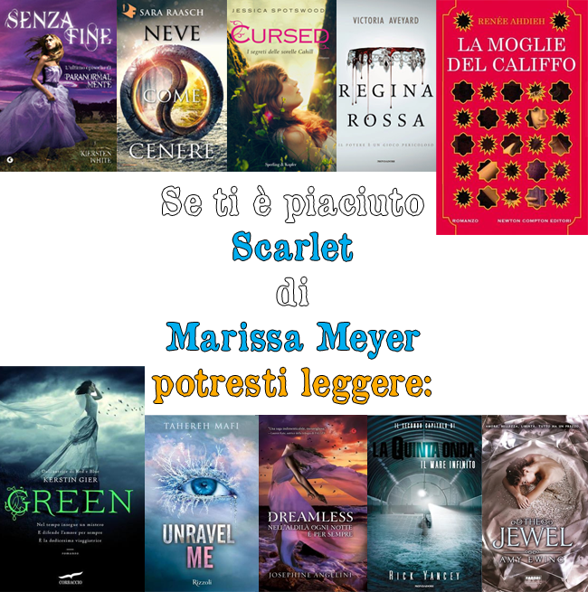 Scarlet di Marissa Meyer