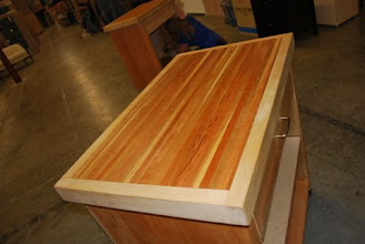 Photo: maple and cherry cuttingboard top