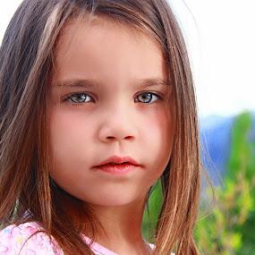 Italian girl by Stoyan Katinov - Babies & Children Child Portraits ( sight, girl, beautiful, cute, eyes )