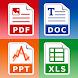 PDFコンバータ (doc ppt xls txt word png jpg wps..)