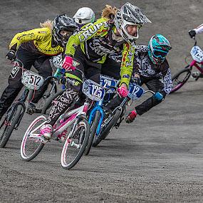Ride Like a Girl by Paul Milliken - Sports & Fitness Cycling ( bmx australia, bmx racing, bmx, bmx sydney )