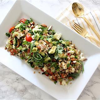 Summer Vegetable & Grains Salad Recipe