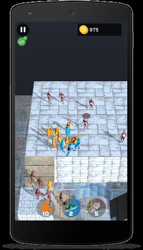 Ninja fight: stratégie jeux sans internet  captures d'écran 1
