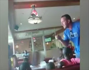 Video footage of the altercation at Texamo Spur - in The Glen Shopping Centre in Johannesburg