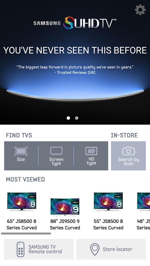 SAMSUNG TV & Remote (IR)- screenshot