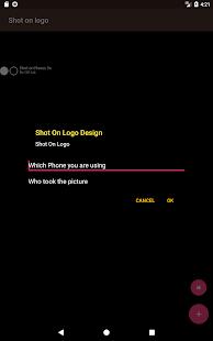 Shot on logo - náhled