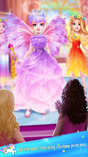 ud83dudc78Rainbow Princess & Unicorn Makeup - Fashion Trip 1.5.5009 screenshots 13
