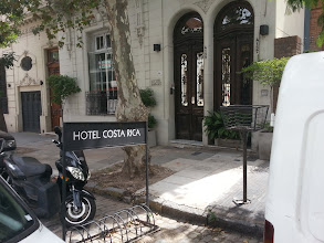 Photo: In Palermo I saw this on the Costa Rica Avenue, a Costa Rica Hotel :)