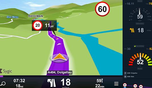 Free GPS Navigation & Maps Sygic free advice - náhled